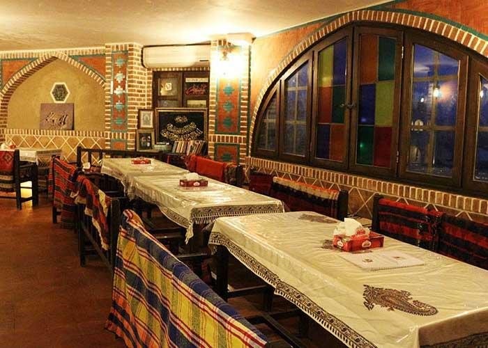 کافی شاپ سنتی کمپ متین آباد