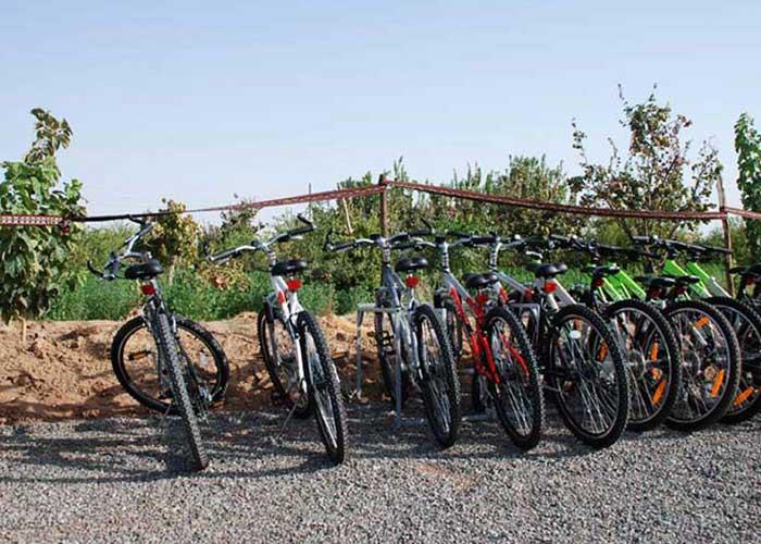 ایستگاه دوچرخه سواری کمپ متین آباد