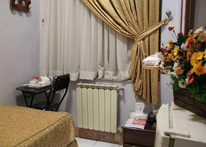 فضای اتاق هتل مهر تهران
