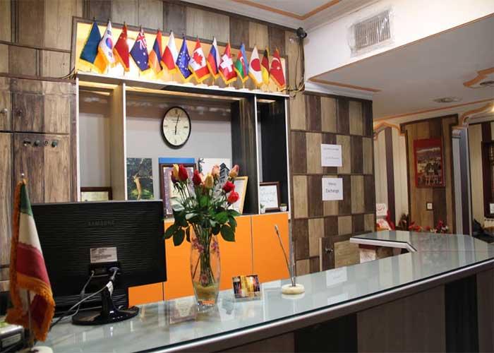 پذیرش هتل مهر تهران