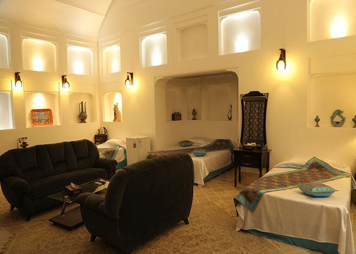 چهار تخته هتل سنتی مهر یزد