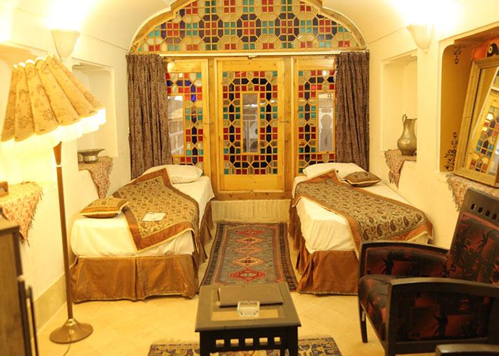 دو تخته  هتل سنتی مهر یزد