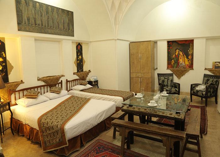 سه تخته هتل سنتی مهر یزد