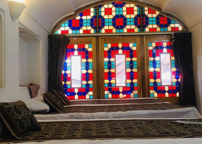عکس اتاق هتل سنتی مهر یزد