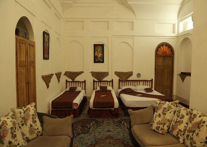 تصاویر اتاق هتل سنتی مهر یزد