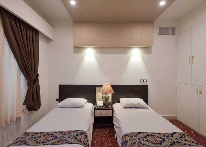 اتاق هتل مروارید تهران