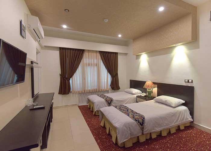 عکس اتاق هتل مروارید تهران