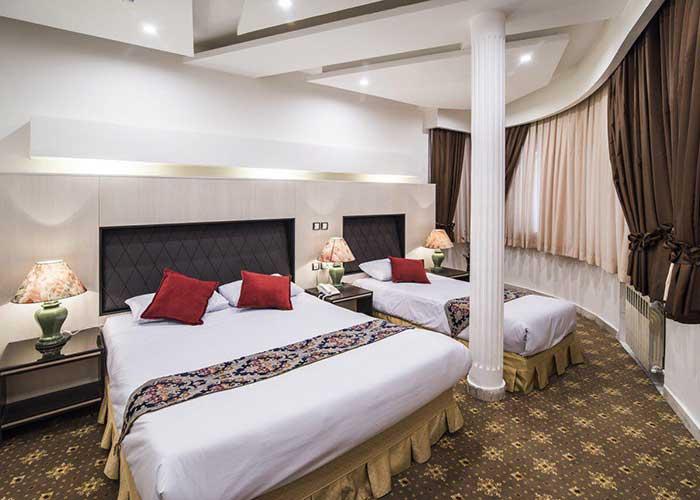 تصاویر اتاق هتل مروارید تهران
