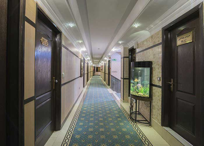 راهرو هتل مروارید