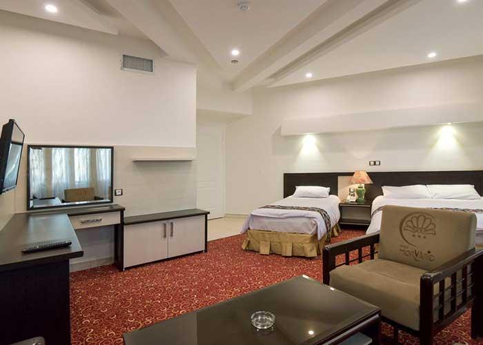 عکس اتاق هتل مروارید