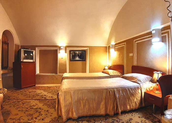 اتاق های دو تخته کاروان سرای مشیر یزد