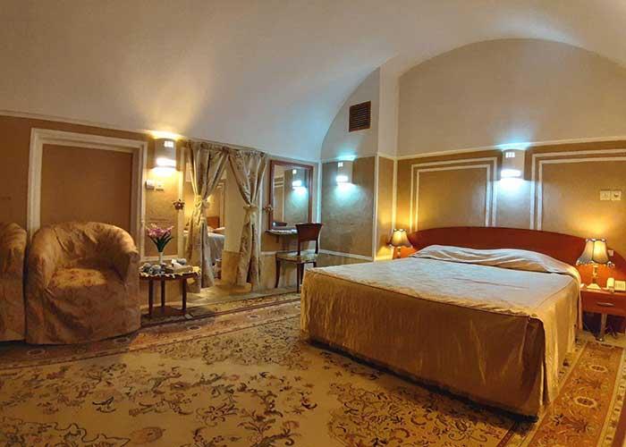 اتاق کاروانسرای مشیر یزد