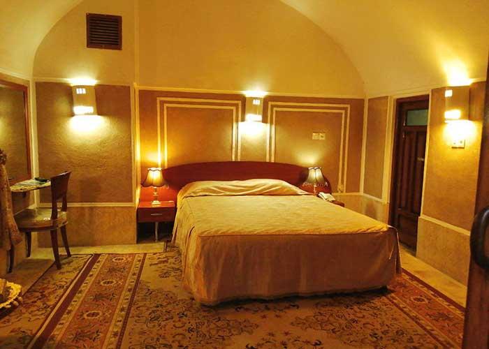 تصاویر اتاق کاروانسرای مشیر یزد