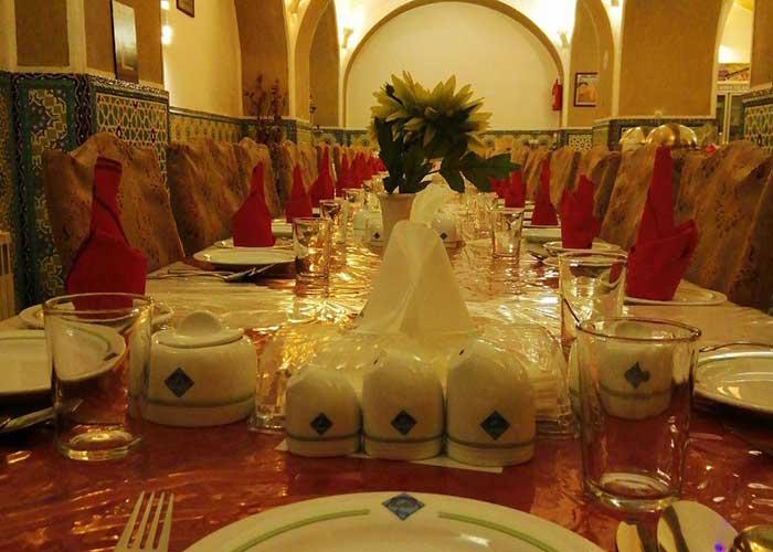 رستوران کاروانسرای مشیر یزد