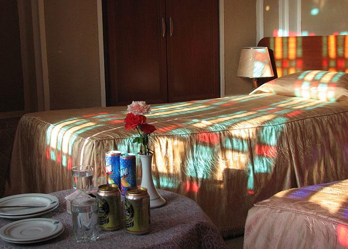 اتاق هتل کاروانسرای مشیر یزد
