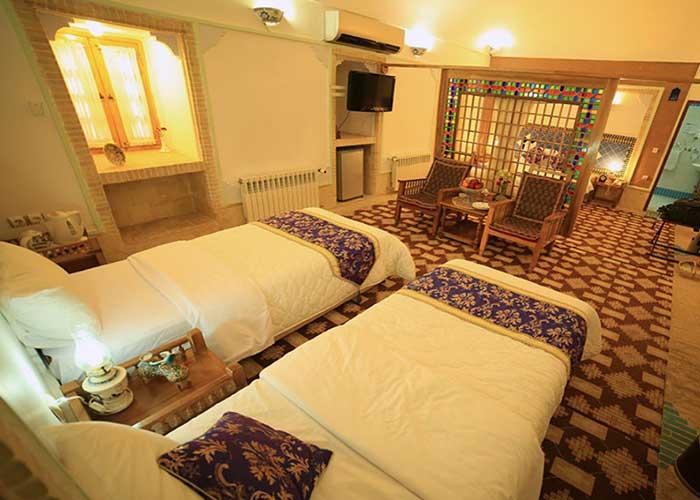 تصاویر سوئیت هتل باغ مشیر الممالک یزد