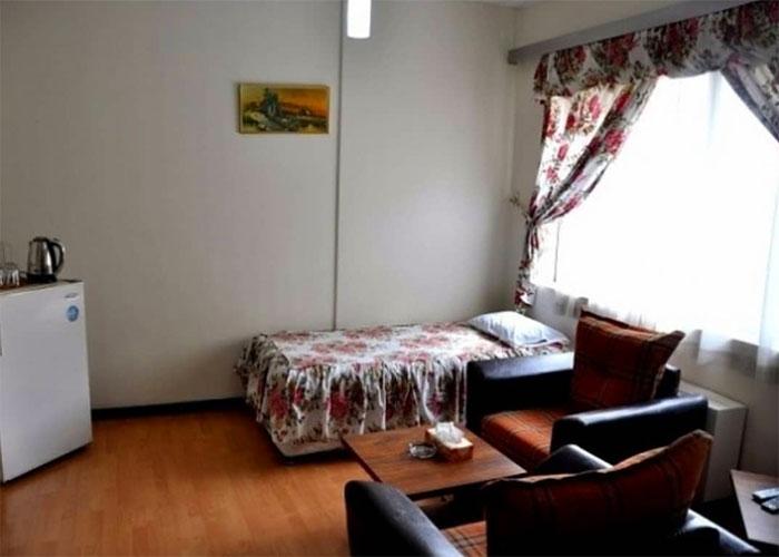 فضای اتاق هتل نادری نو تهران