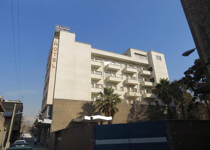 ساختمان هتل نادری نو تهران