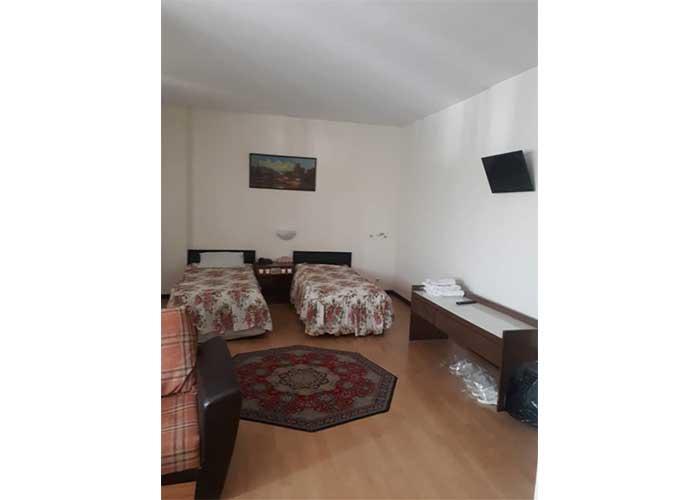اتاق دو تخته توئین هتل نادری نو تهران