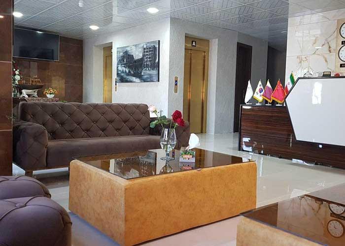 لابی هتل ناکو بوشهر