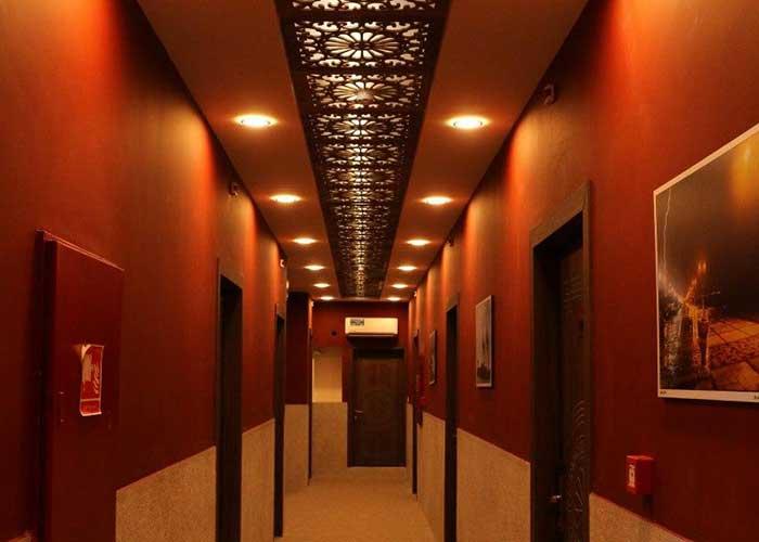 راهرو هتل ناکو بوشهر