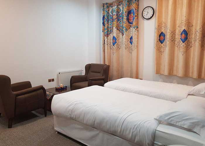 دو تخته توئین هتل ناکو بوشهر