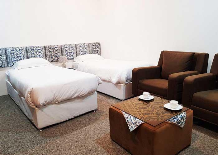 توئین هتل ناکو بوشهر