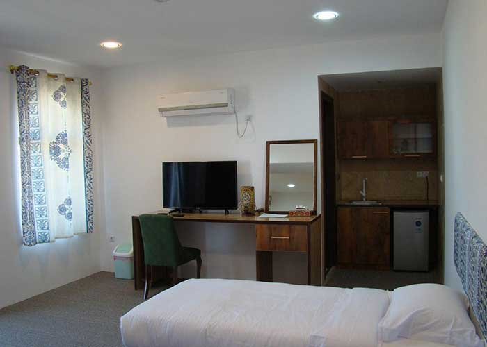 اتاق هتل ناکو بوشهر