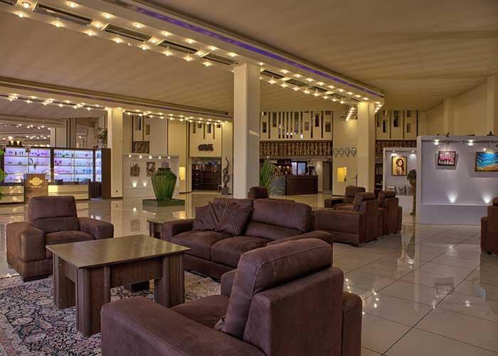 تصاویر لابی هتل نگارستان کاشان