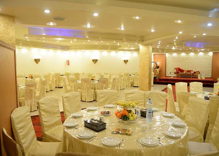 سالن مراسمات هتل نگارتسان کاشان
