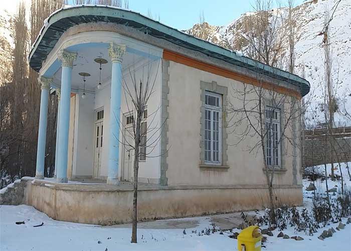 قصر رضا شاه در هتل باستانی نگین گچسر
