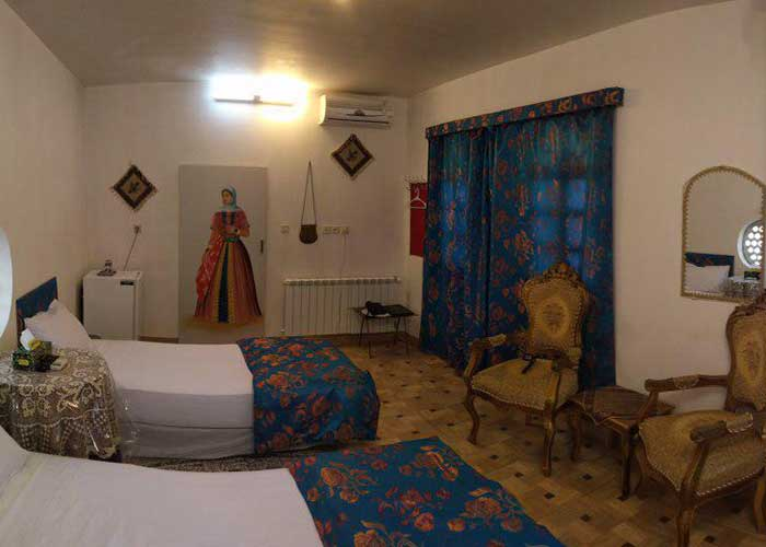 دو تخته هتل سنتی نگین کاشان