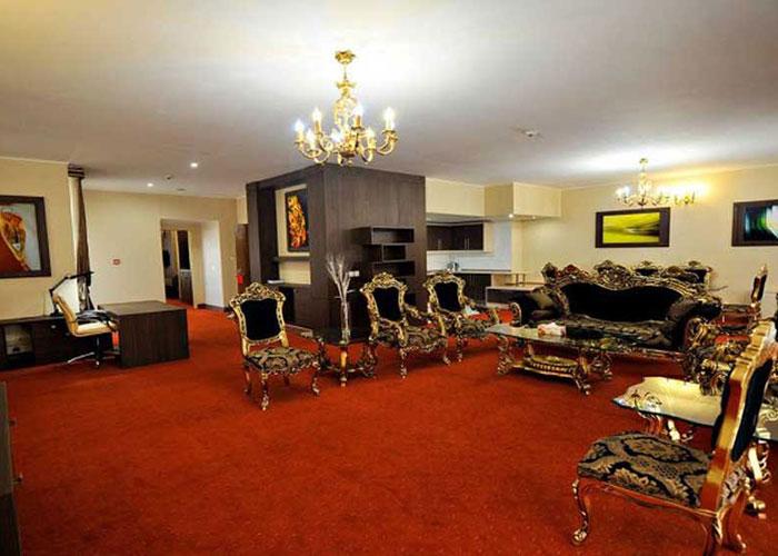 تصاویر اتاق هتل نیکان بافق