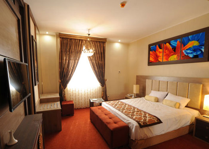 عکس اتاق هتل نیکان بافق