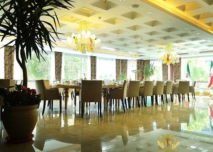 رستوران هتل نیلو تهران