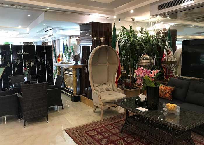 لابی هتل نیلو تهران