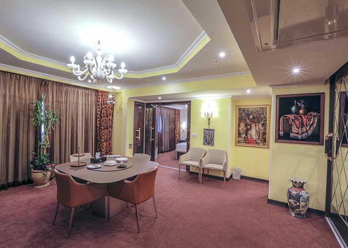 مبلمان اتاق هتل نیلو تهران