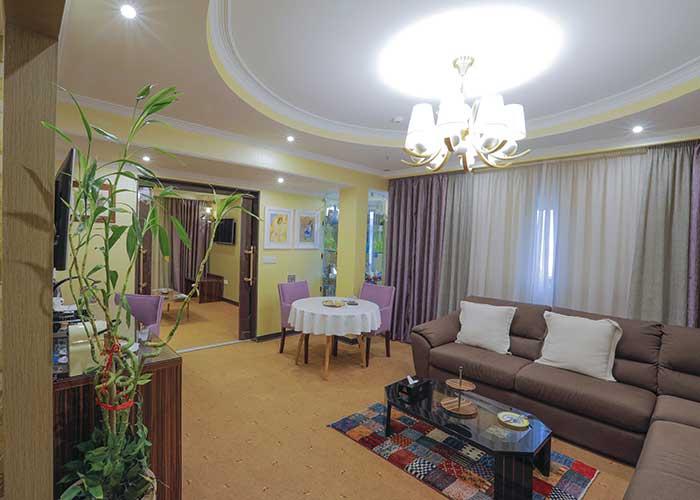 فضای اتاق هتل نیلو تهران
