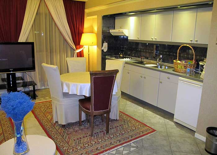 امکانات اتاق هتل نیلو تهران