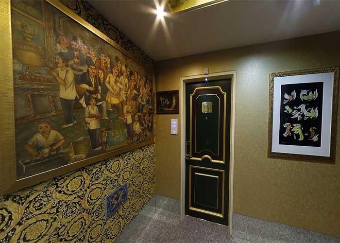 ورودی اتاق های هتل نیلو تهران