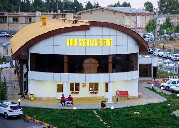 ساختمان هتل نور سبلان مشگین شهر