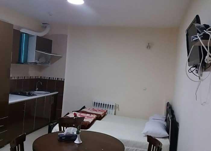 اتاق هتل نور سبلان مشگین شهر