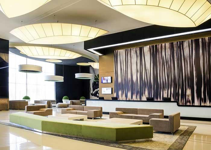 لابی هتل نووتل تهران