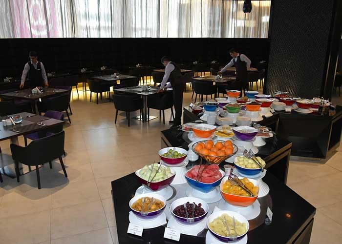 تصاویر رستوران هتل نووتل تهران
