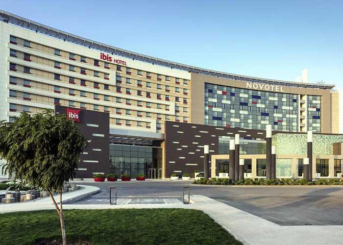 عکس ساختمان هتل نووتل تهران
