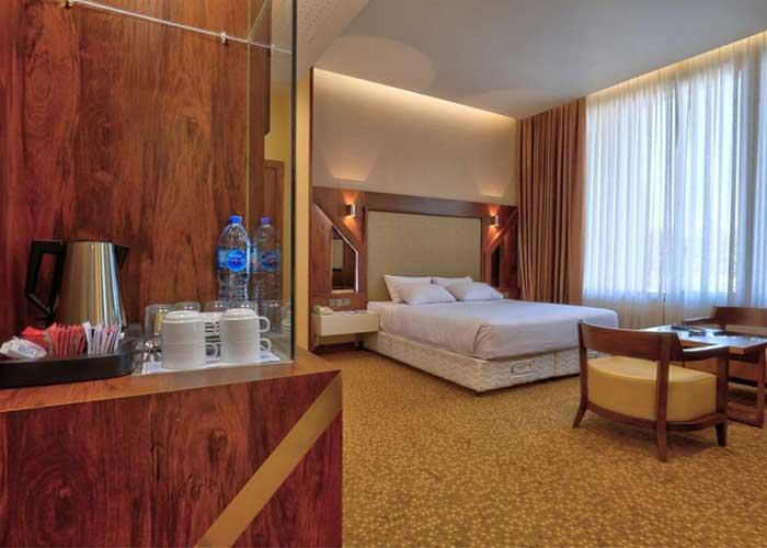 اتاق هتل المپیک تهران