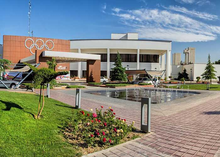 ساختمان هتل المپیک تهران