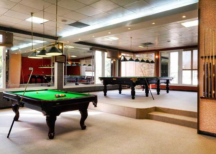 سالن بیلیارد هتل المپیک تهران