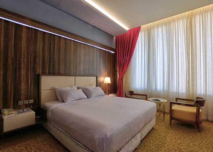 دو تخته دبل هتل المپیک تهران