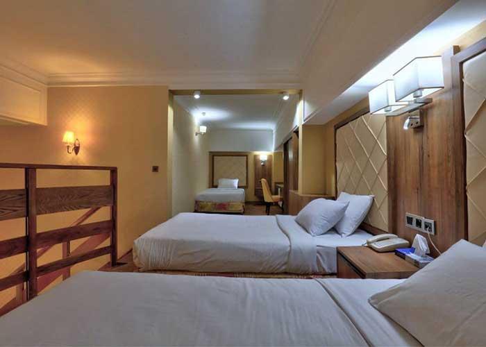سه تخته هتل المپیک تهران